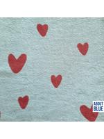 About Blue Fabrics Love U Too Sponge