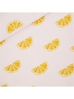 See You At Six Oranges - Katoen Canvas Gabardine Twill - Sleutelbloem Roze