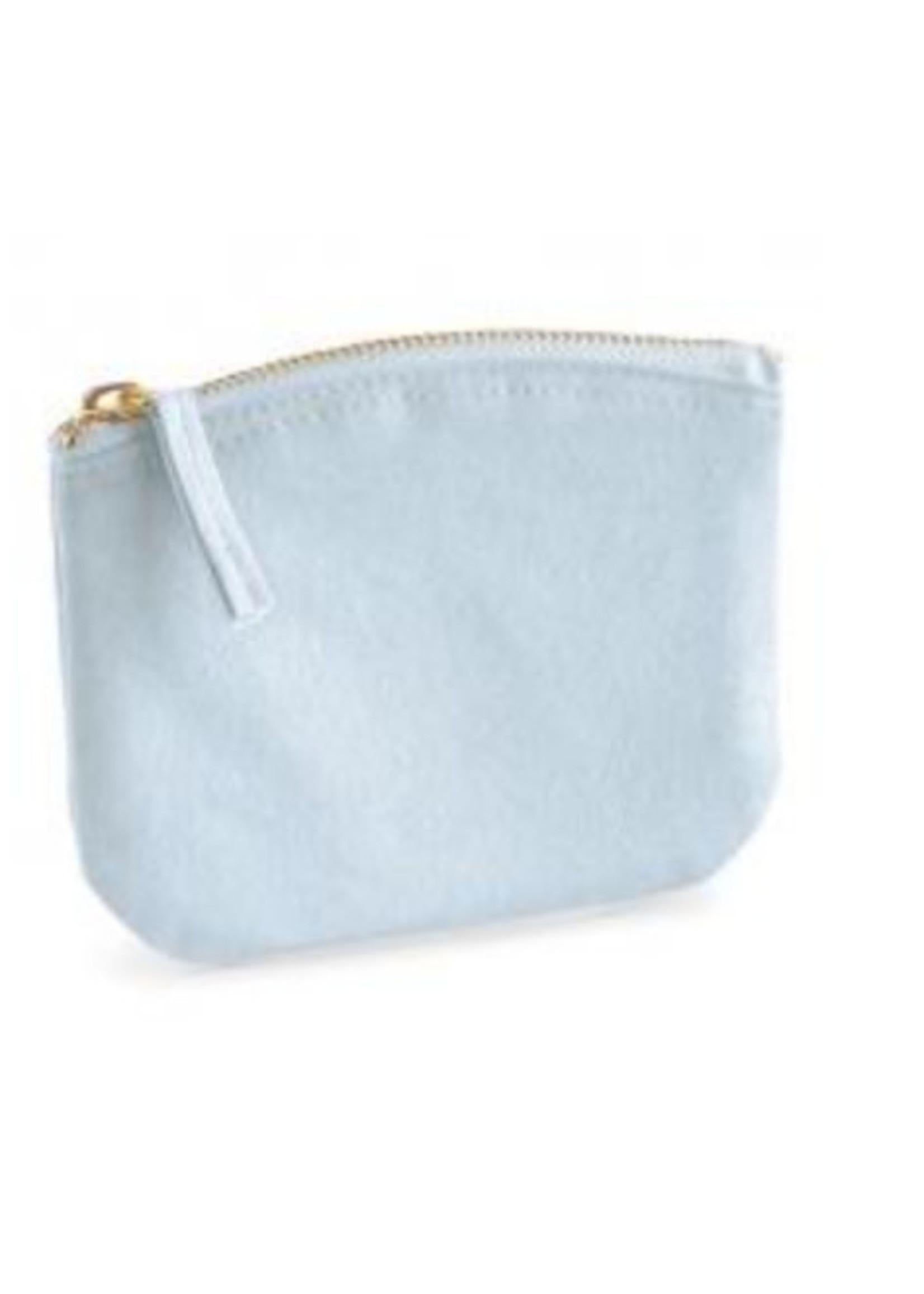 Organic Spring Purse - Pastel Blue