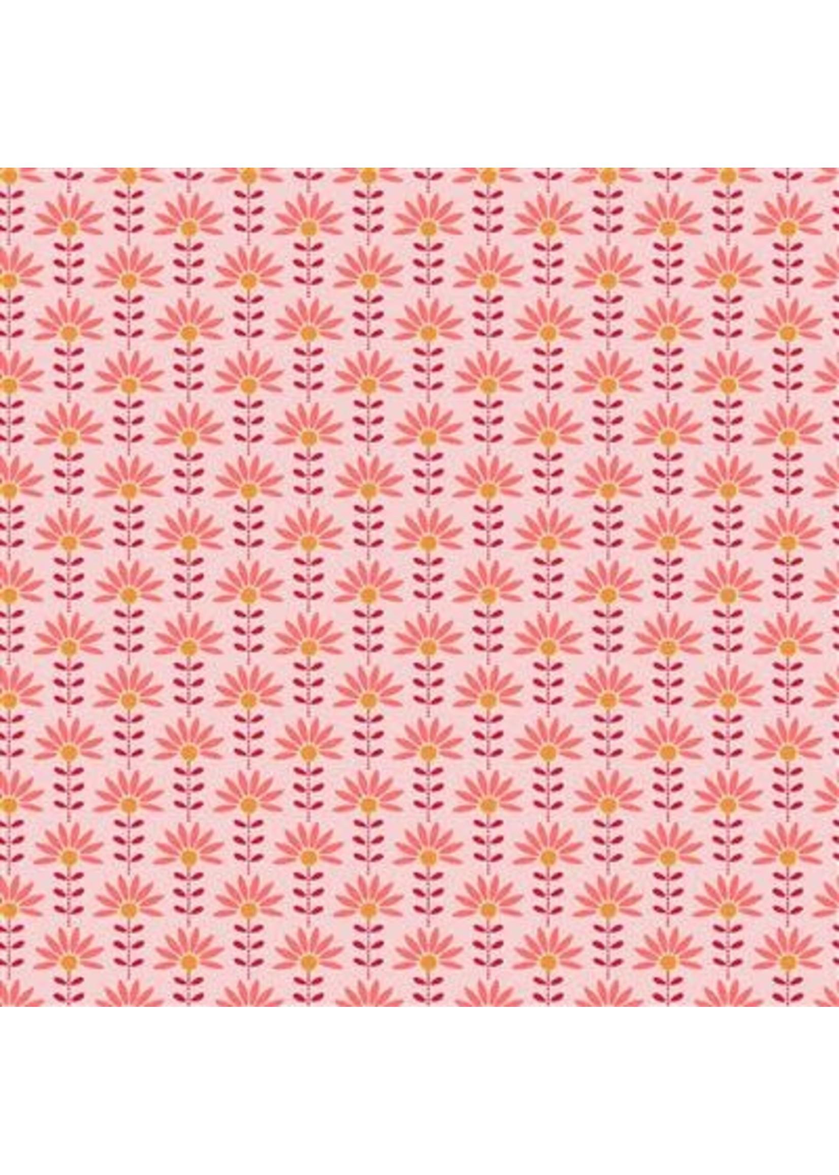 Poppy Poplin Graphic Flower Cotton