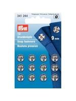 Prym Prym Aannaaidrukknoop 9mm - zilver
