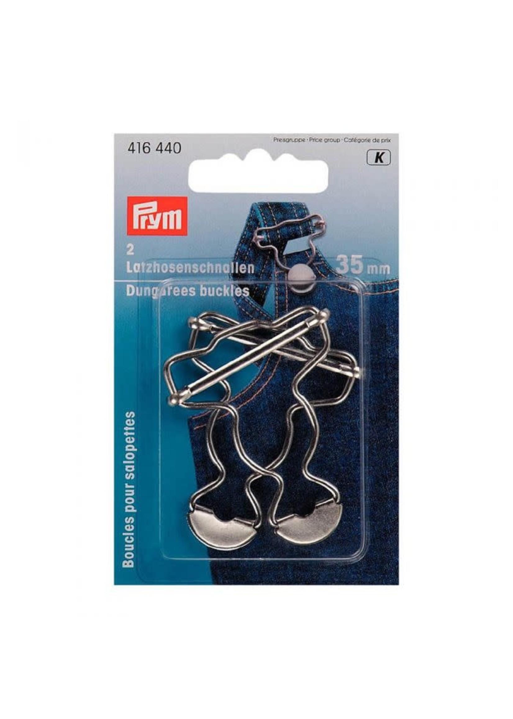 Prym Prym Gespen voor tuinbroek 35mm - zilver