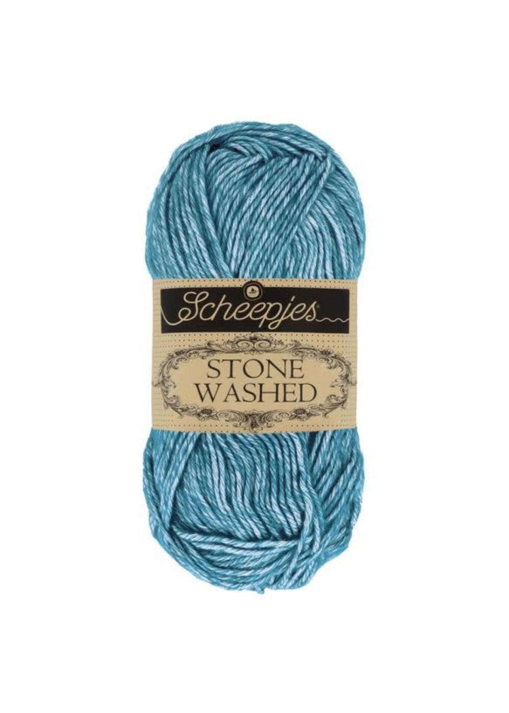 Scheepjes Stone Washed 50gr - 805 Blue Apatite