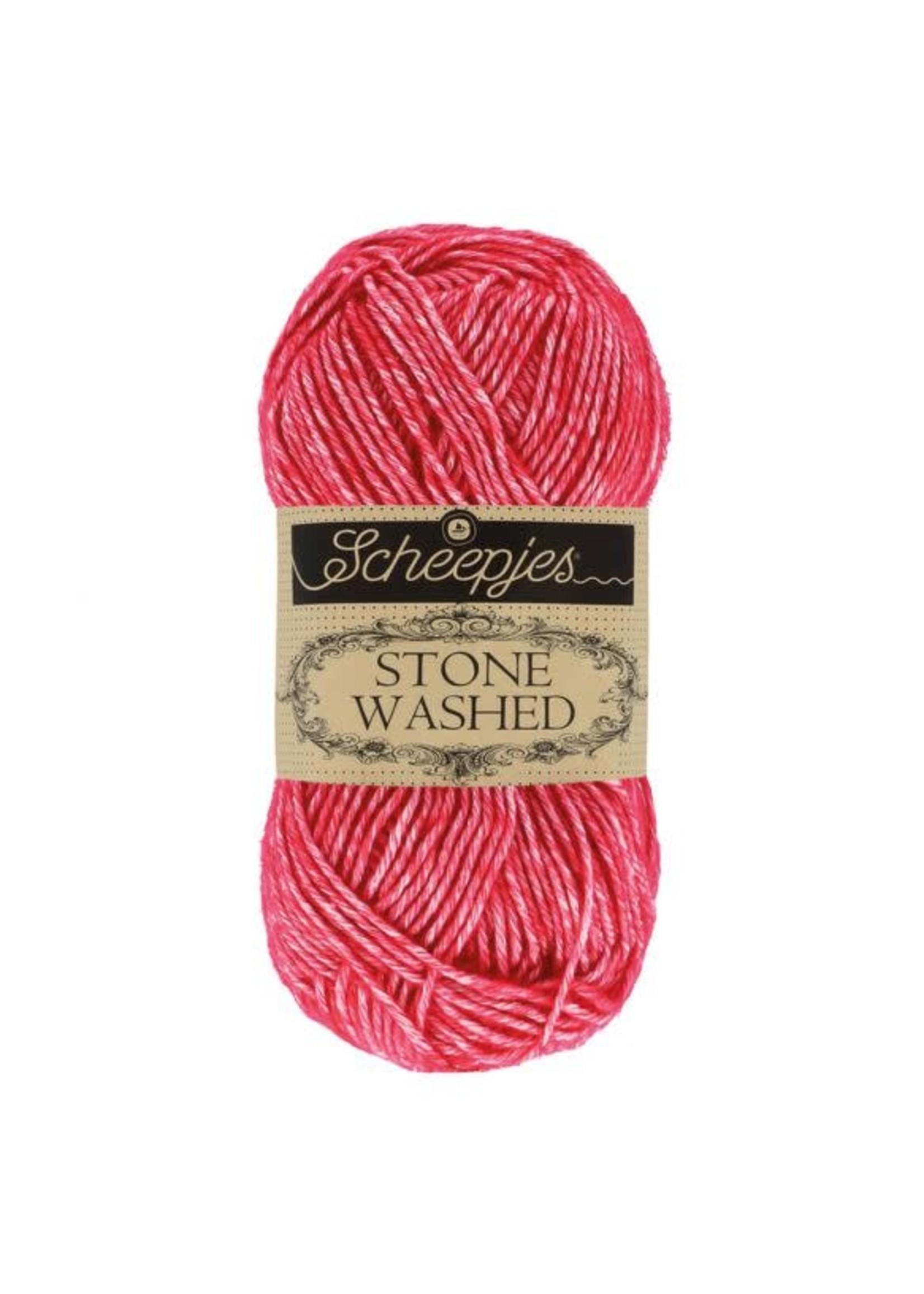 Scheepjes Stone Washed 50gr - 807 Red Jasper