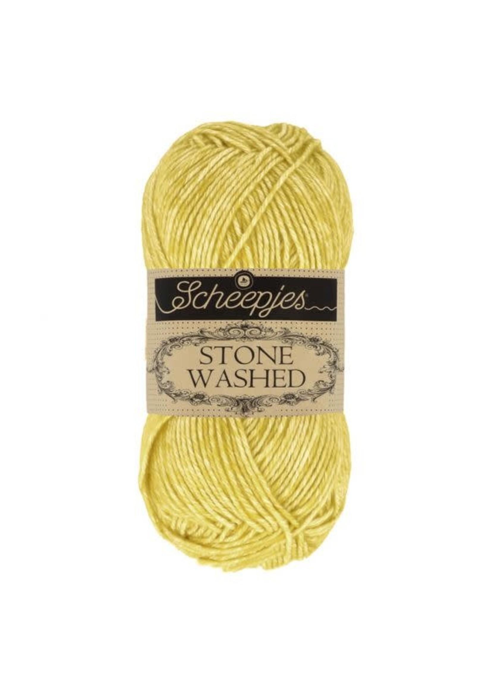 Scheepjes Stone Washed 50gr - 812 Lemon Quartz