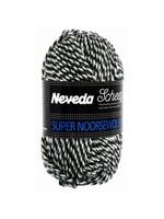 Scheepjes Super Noorse Extra 50gr - 0246 Zwart, grijs, wit