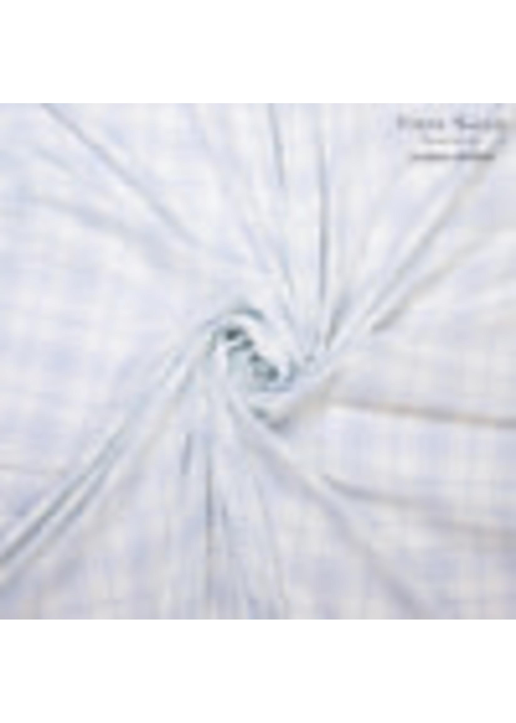 White with blue diamonds