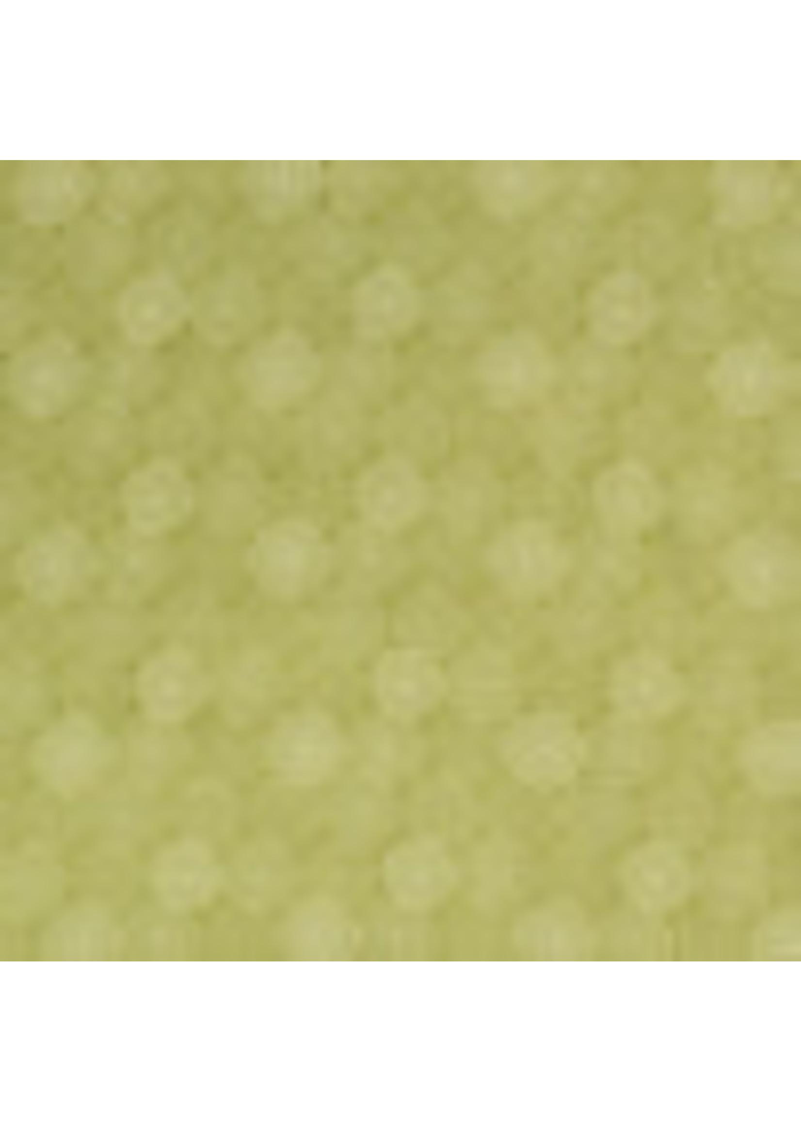 Viscose Poplin Print Circles Green - My Image 22
