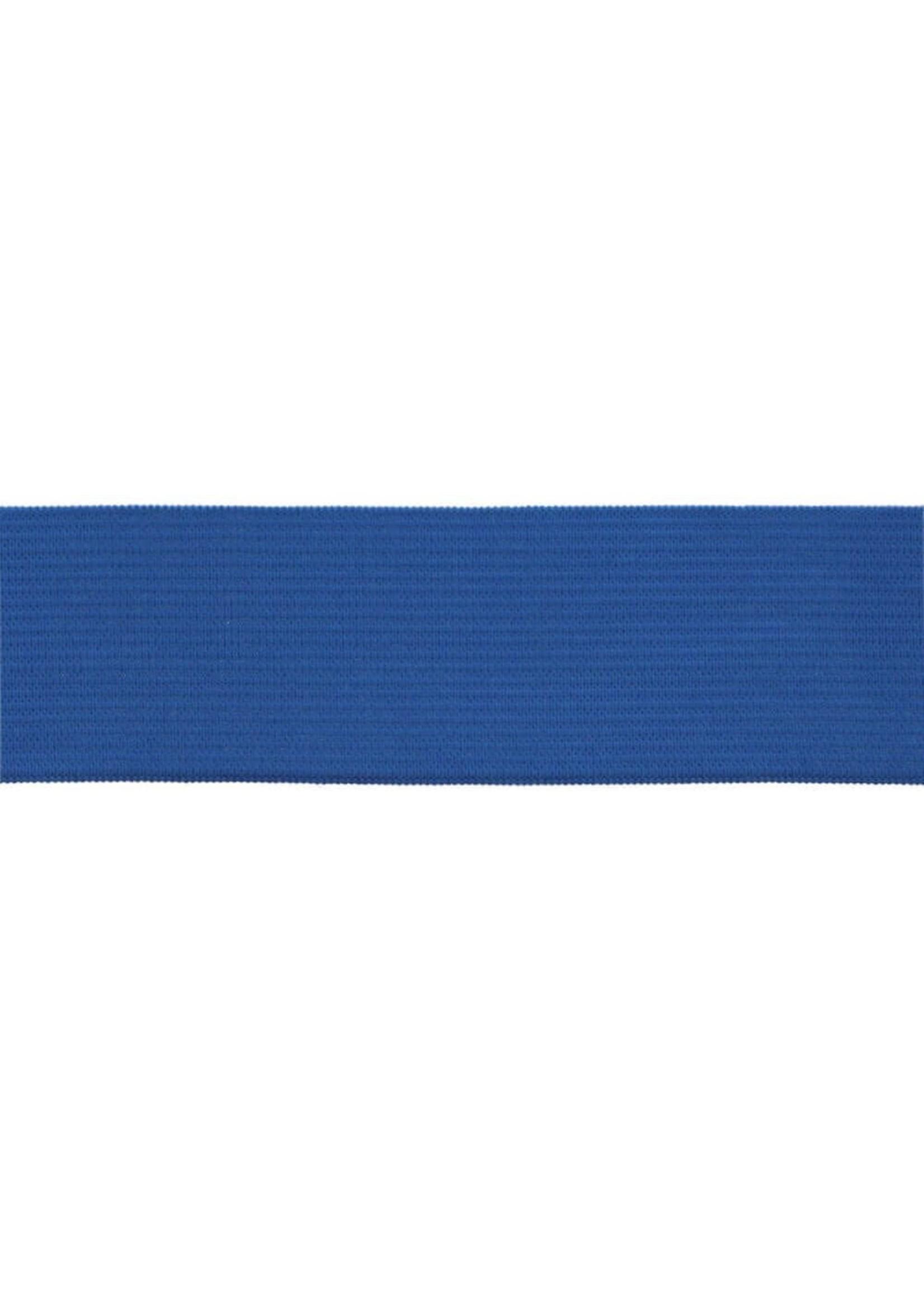 Ceintuurelastiek 40mm - Blauw