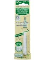 Clover Chaco Liner Pen Navulling - Wit