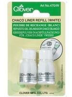 Clover Chaco Liner Refill. White (Clover)