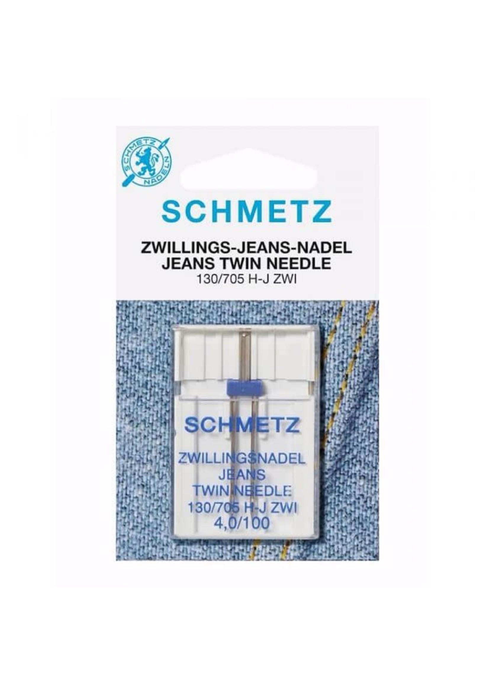 Schmetz Schmetz Jeans Tweeling 1 naald 4.0-100