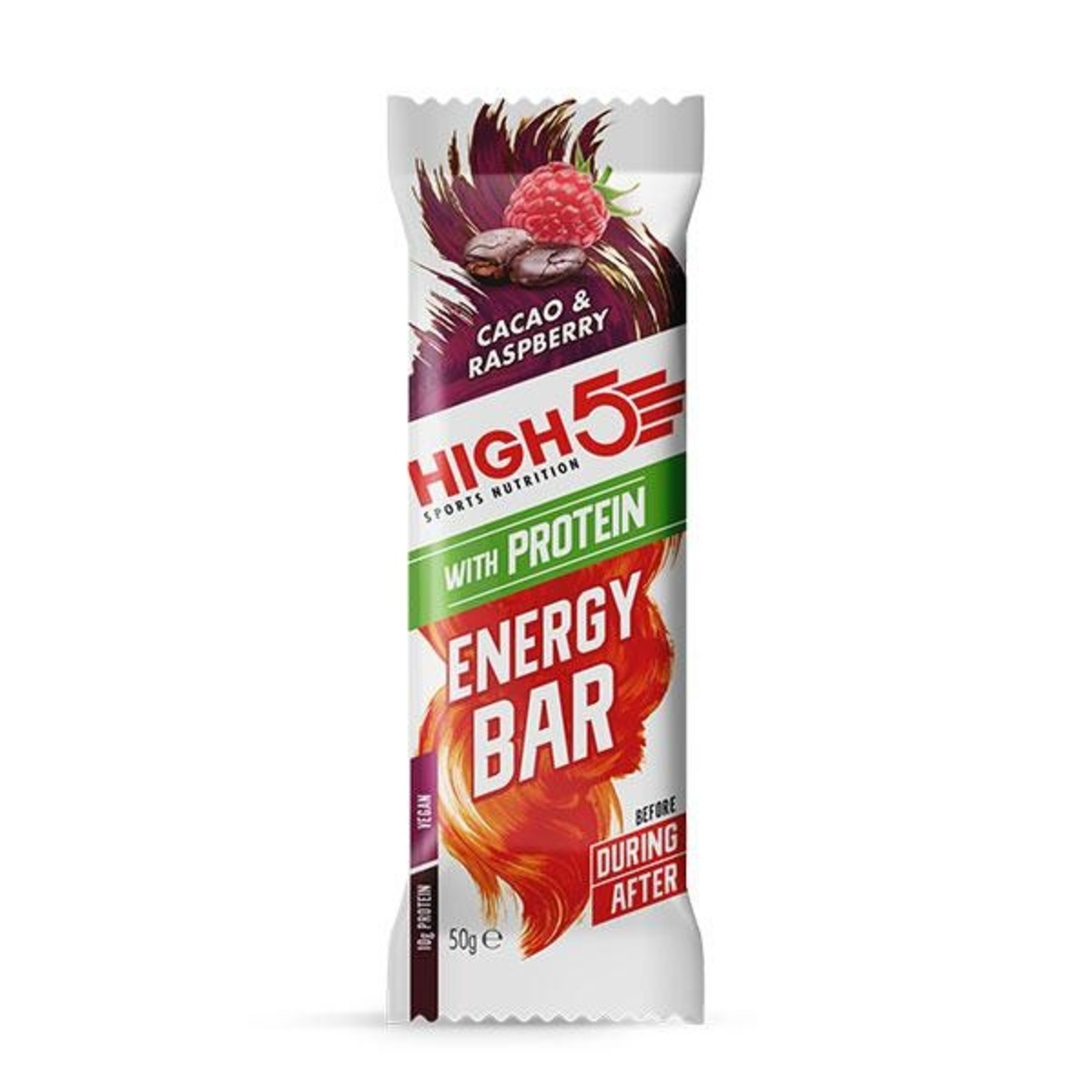 High 5 HIGH 5 ENERGY BAR WITH PROTEIN COCOA RASPBERRY
