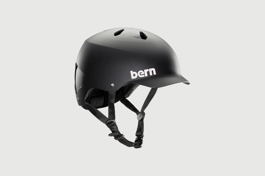 Bern Bern - Helmet, Watts EPS, Matte Black