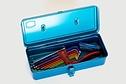 Trusco TRUSCO - Utility Box, T-320, Blue (333 x 137 x 96.5 )