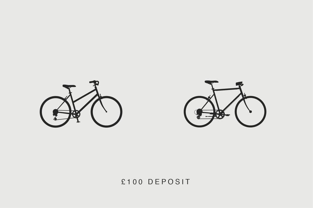 tokyobike deposit - £100.00