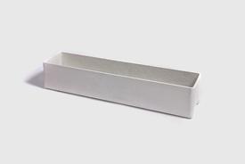 Willy Guhl Fibre concrete planter 80 cm in grey