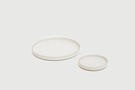 Hasami Hasami Porcelain plate, clear