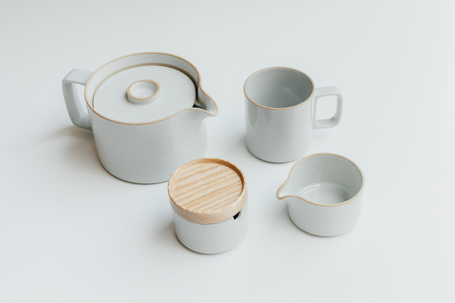 Hasami Hasami Porcelain Sugar Pot Clear (φ85x55)