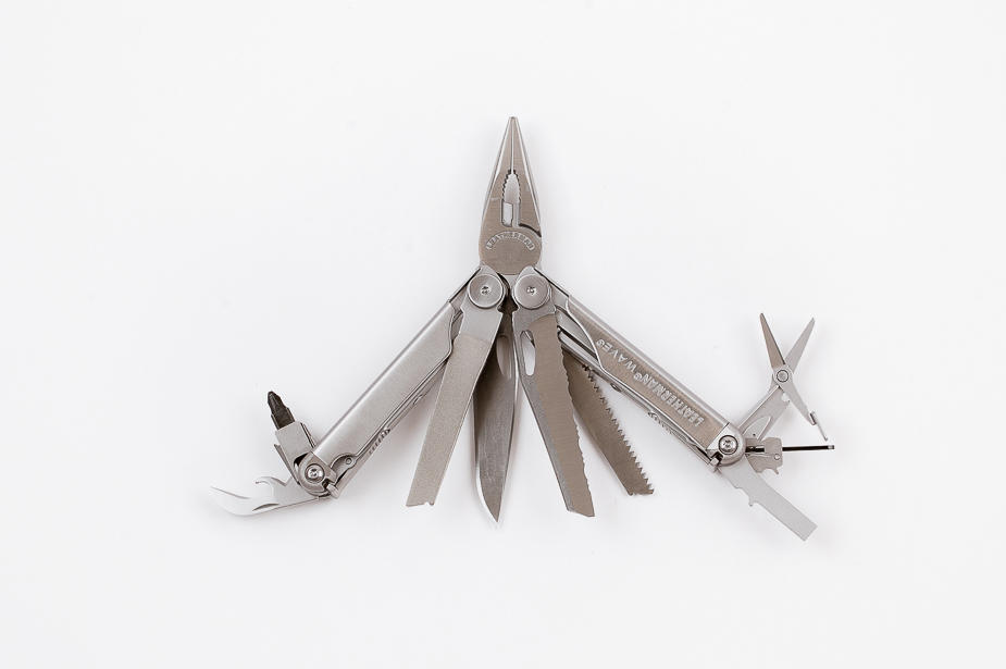 Leatherman Leatherman - Wave, Multi-Tool With Nylon Pouch, Silver