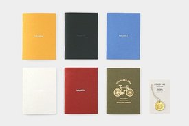 tokyobike x Travelers's Company tokyobike x Traveler's Company, Passport Size Refill Notebook