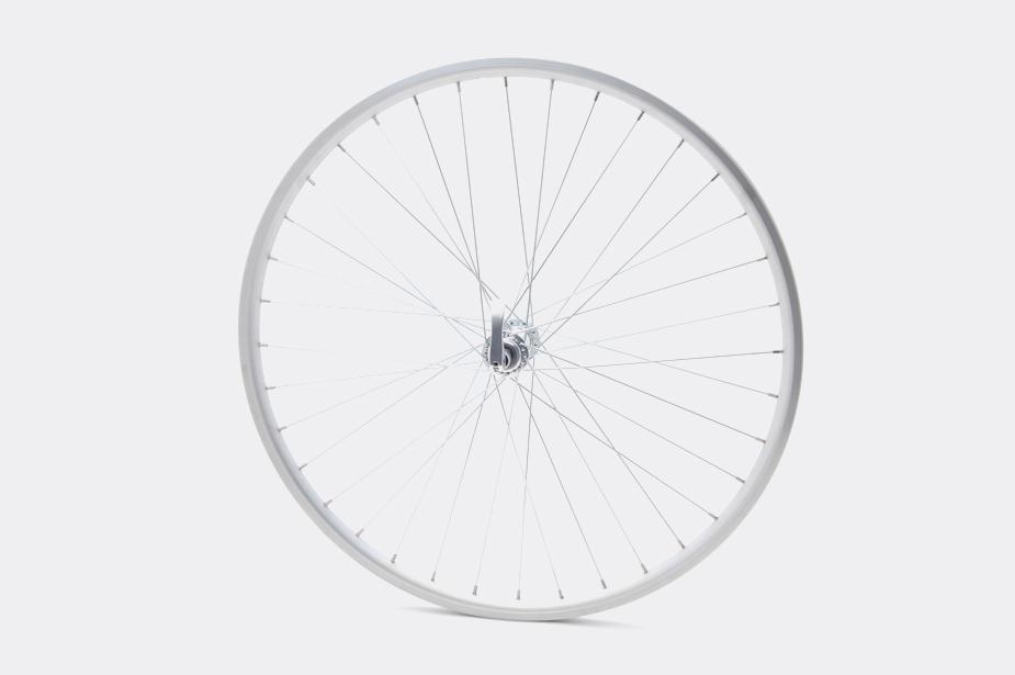 "JALCO - Front Wheel, DXT116, 26"" 36H Silver / Silver (Bisou)"