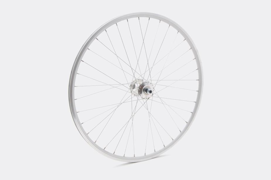 tokyobike JALCO - Front Wheel, DRX-4000 650c 36H Silver / Silver (SS/NI0)
