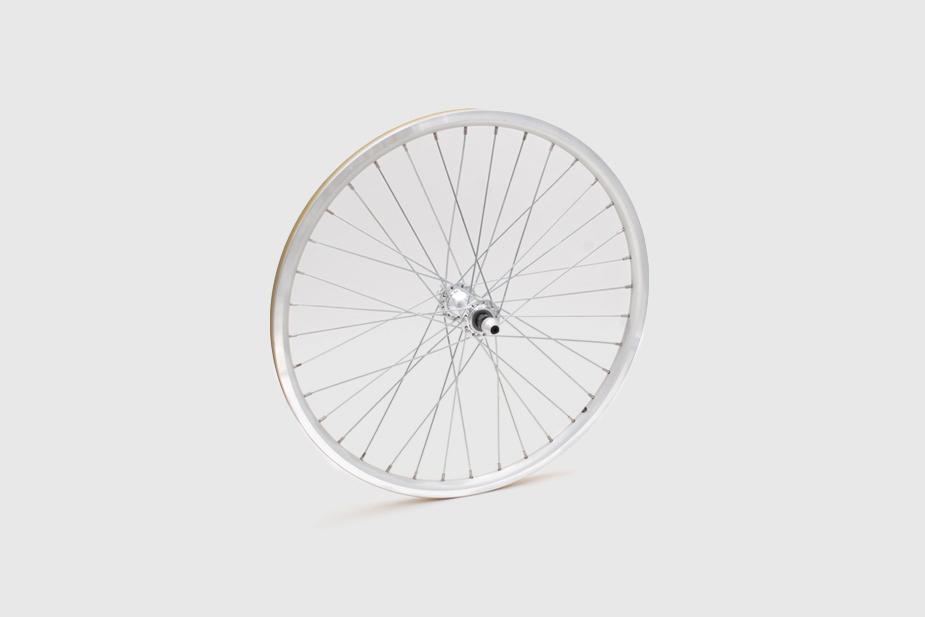 JALCO - Front Wheel, R500 20 x 1-1/8, 36H, Silver / Silver (Mini Velo)