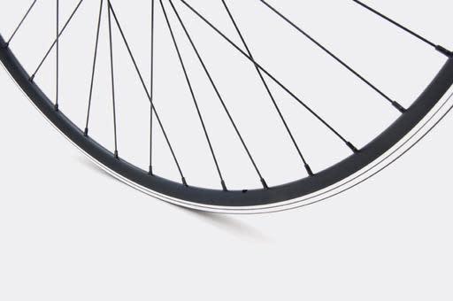 JALCO - Rear Wheel, R500, 650c 36H Black / Black (Sport)