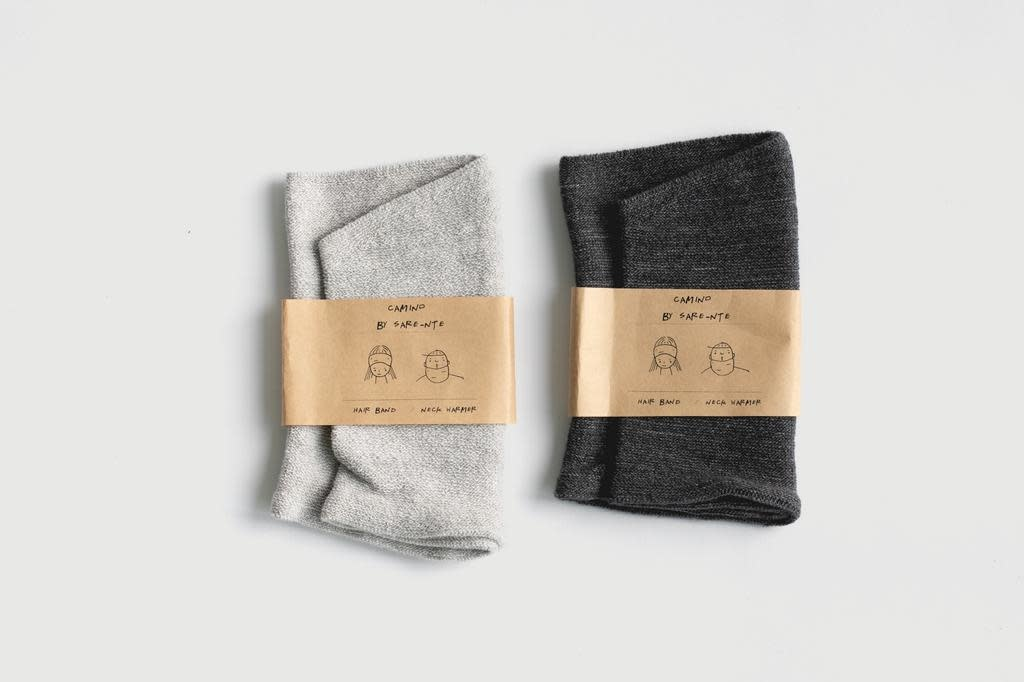 Niente - Camino recycled cotton neck warmer/head band