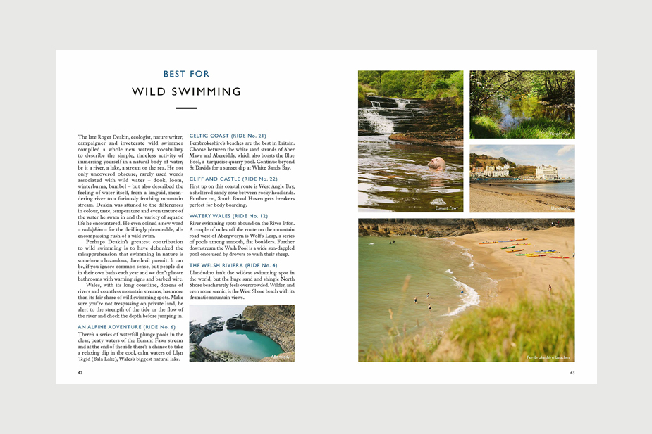 Wild Things Publishing Limited Book - Lost Lanes Wales: 36 Glorious Bike Rides in Wales and the Borders by Jack Thurston