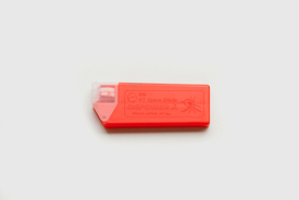 NT NT Cutter - Spare blades (10pcs) for AD-2P (30D), Red
