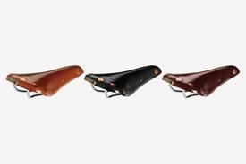 Brooks BROOKS - Leather Saddle, Team PRO Chrome