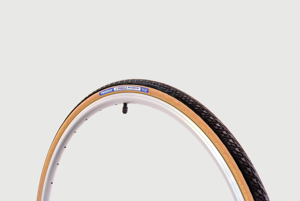Panaracer Panaracer - PASELA Tyre, 26 x 1.25 (32-559), Black / Caramel