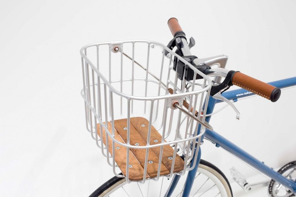 EXTRA / Brooks BROOKS - Hoxton basket in silver