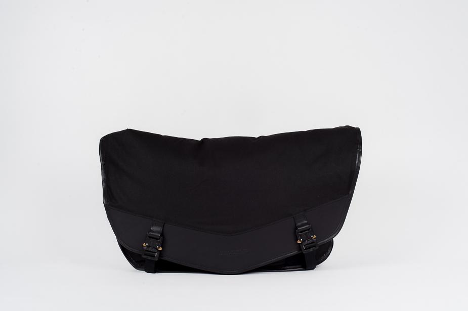Bedouin Bedouin - Barbary, Courier bag (Large), Black / Black