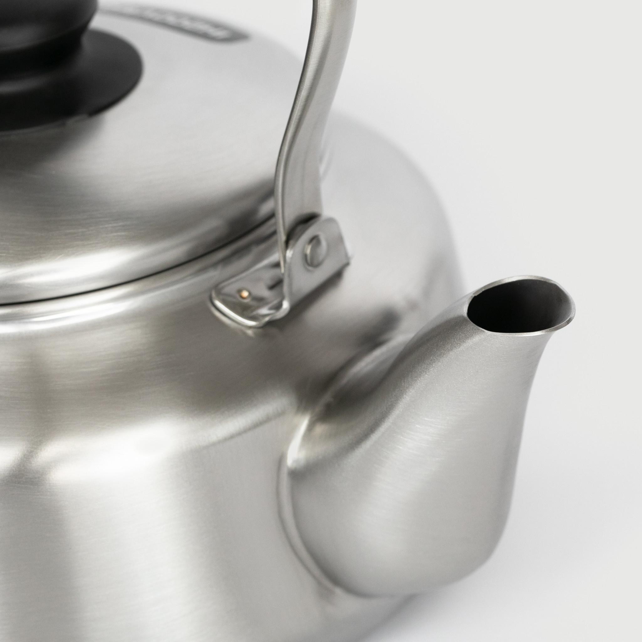 Sori Yanagi Sori Yanagi - stainless steel kettle