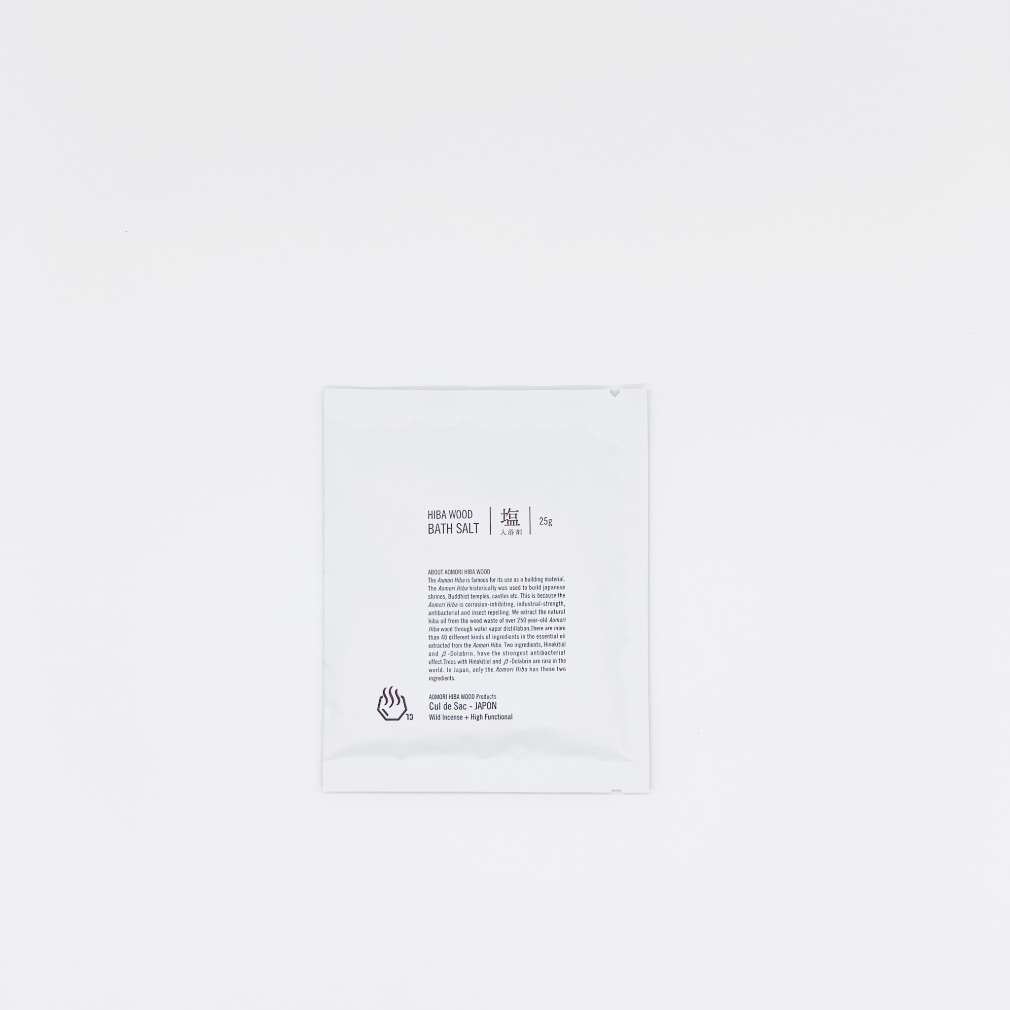 Cul de Sac Cul de Sac - Hiba Wood Bath Salt, 25g