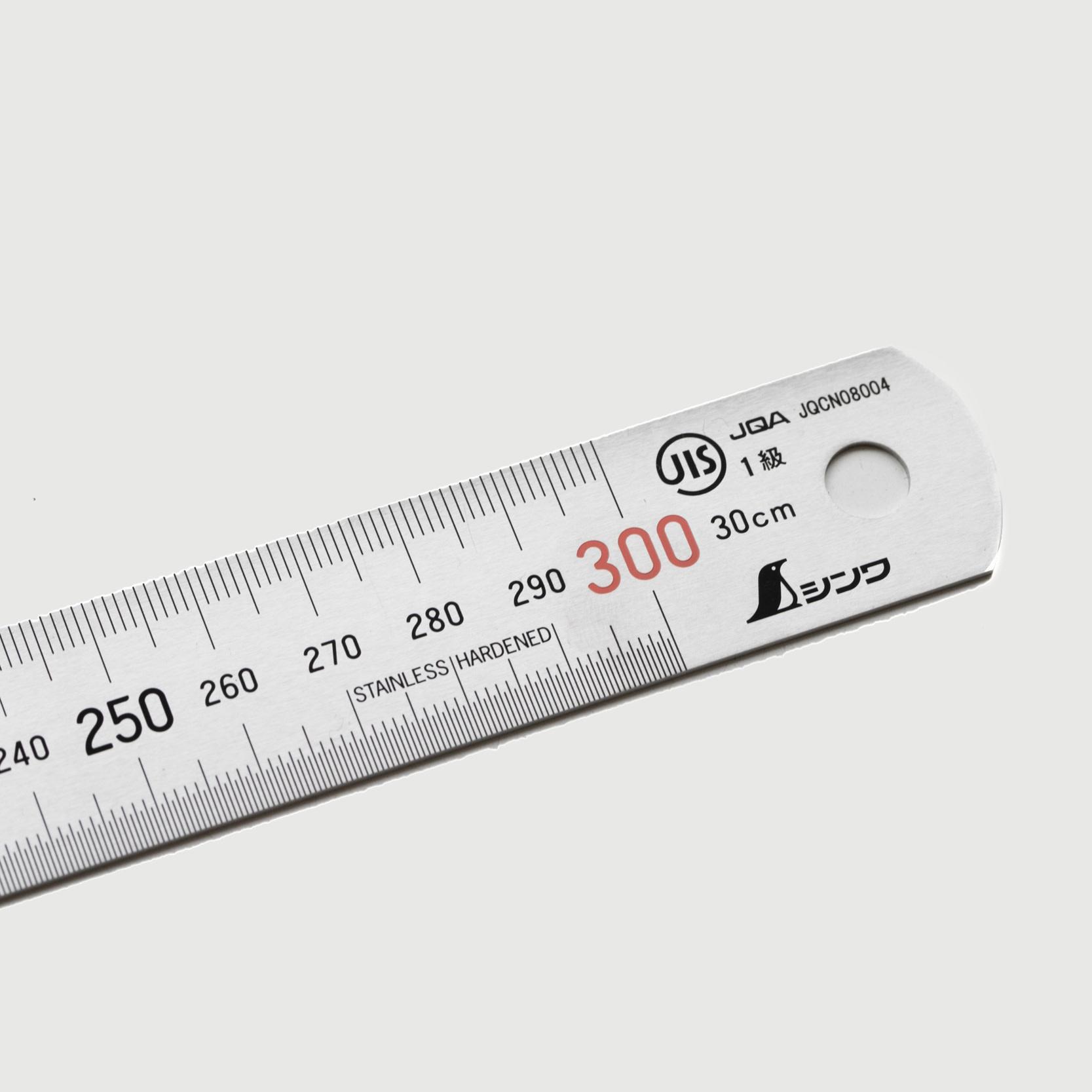 Shinwa Shinwa 300mm Japanese stainless Steel Ruler