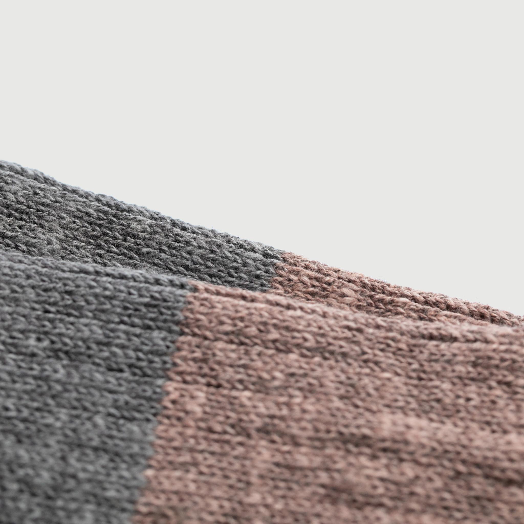 Nishiguchi Kutsushita - Wool Cottons Slub Socks, Boston
