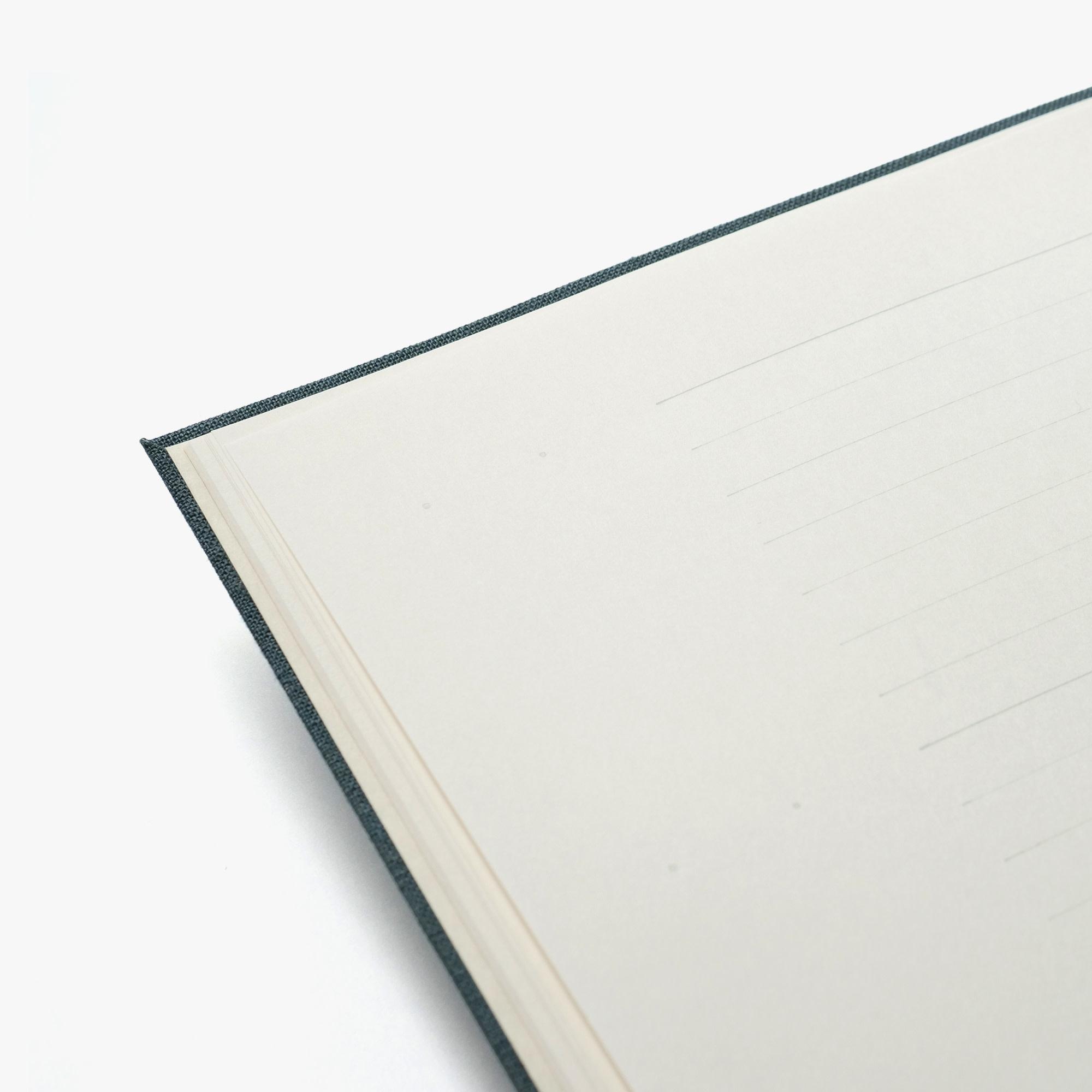 Kakimori Case bound landscape notebook