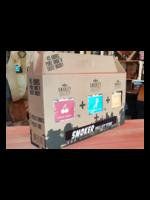 Smokey Bandit Starterpakket Smoker Tube + 3 x 1kg Smokey Pellets