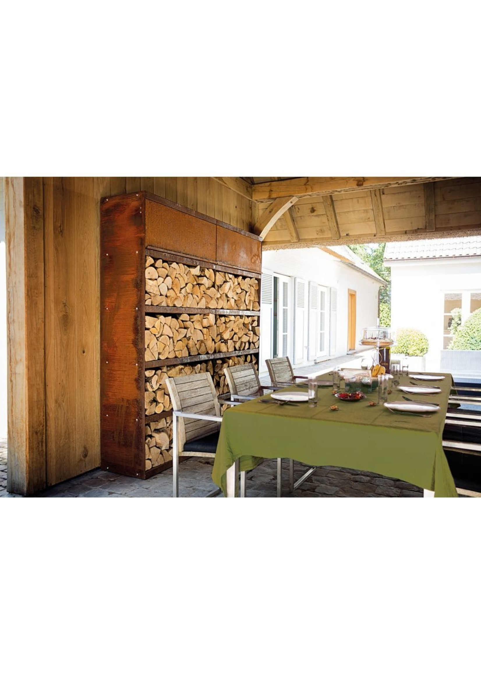 Ofyr OFYR Wood Storage Corten 300