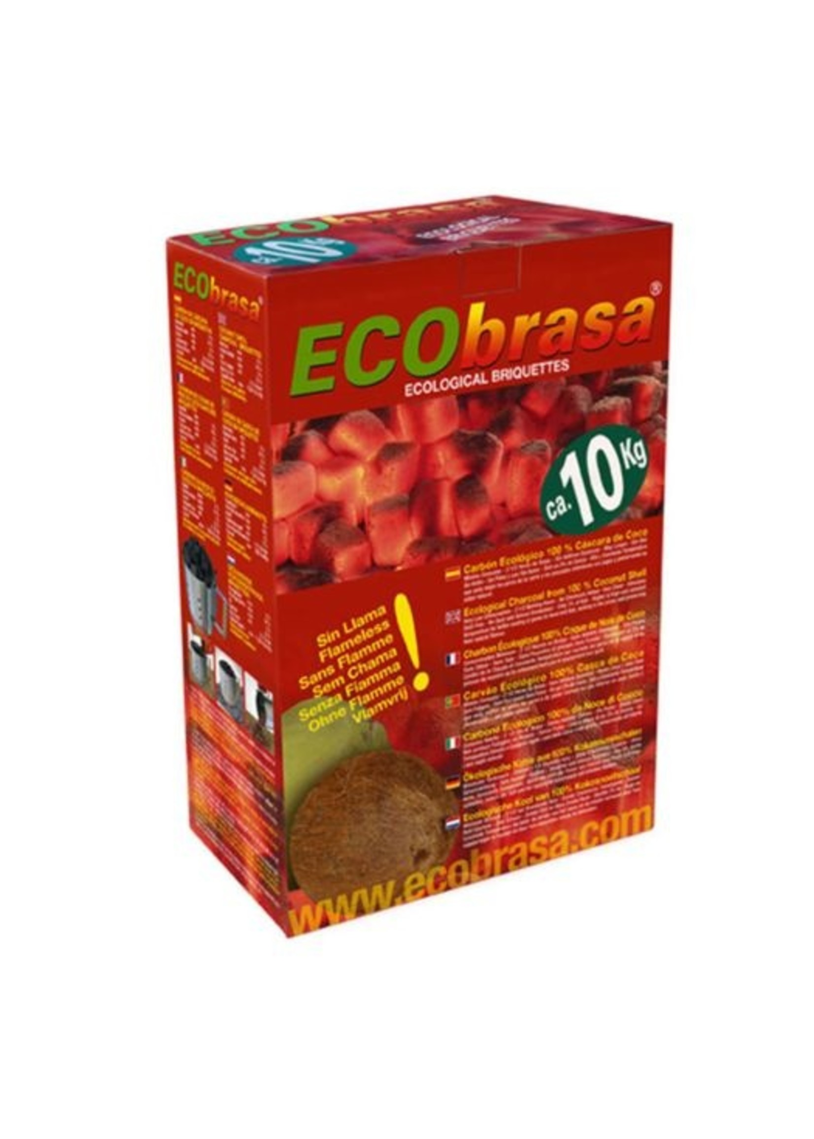 Dammers Dammers Ecobrasa Kokosschaalbriketten 10kg