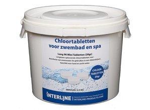 Interline Long 90 Mini Tabletten 20gr (2,5kg) Organisch