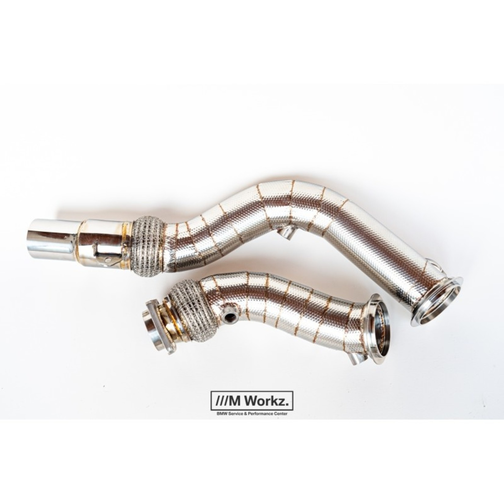 M Workz Competition downpipes S55 M2c/M3/M4