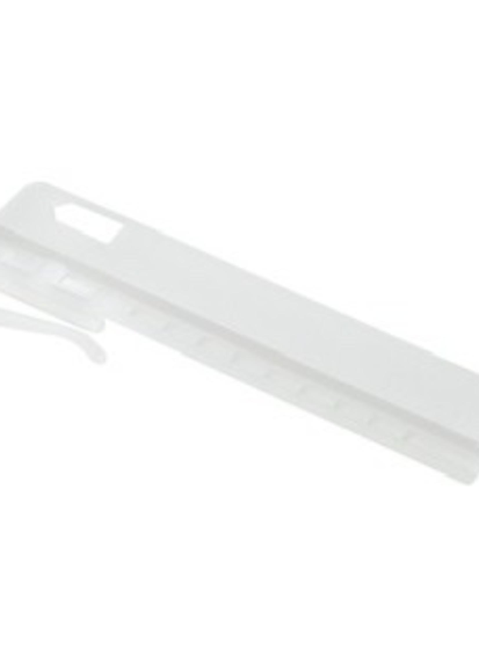 Mobyflex Innaai verstelbare gordijnhaak 7,5cm  verpakt per 500 stuks