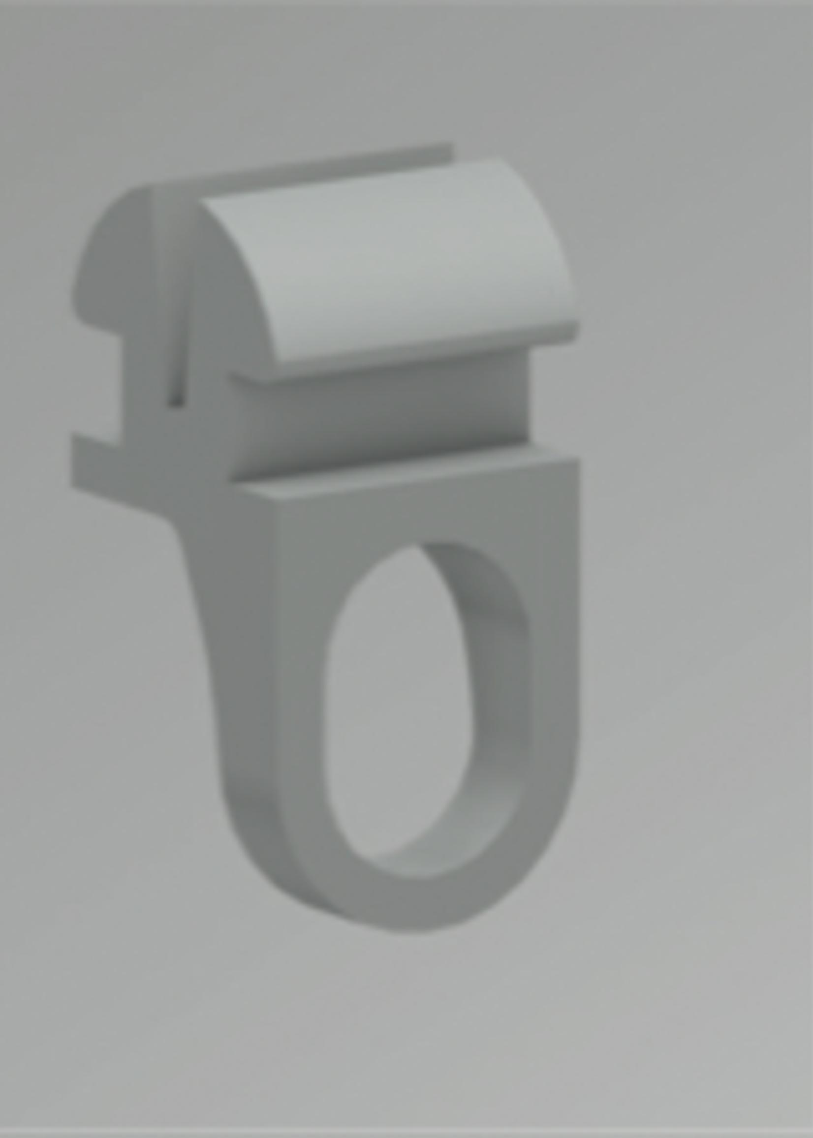 Gordijn Glijder U-Rails (KS) verpakt per 20 stuks