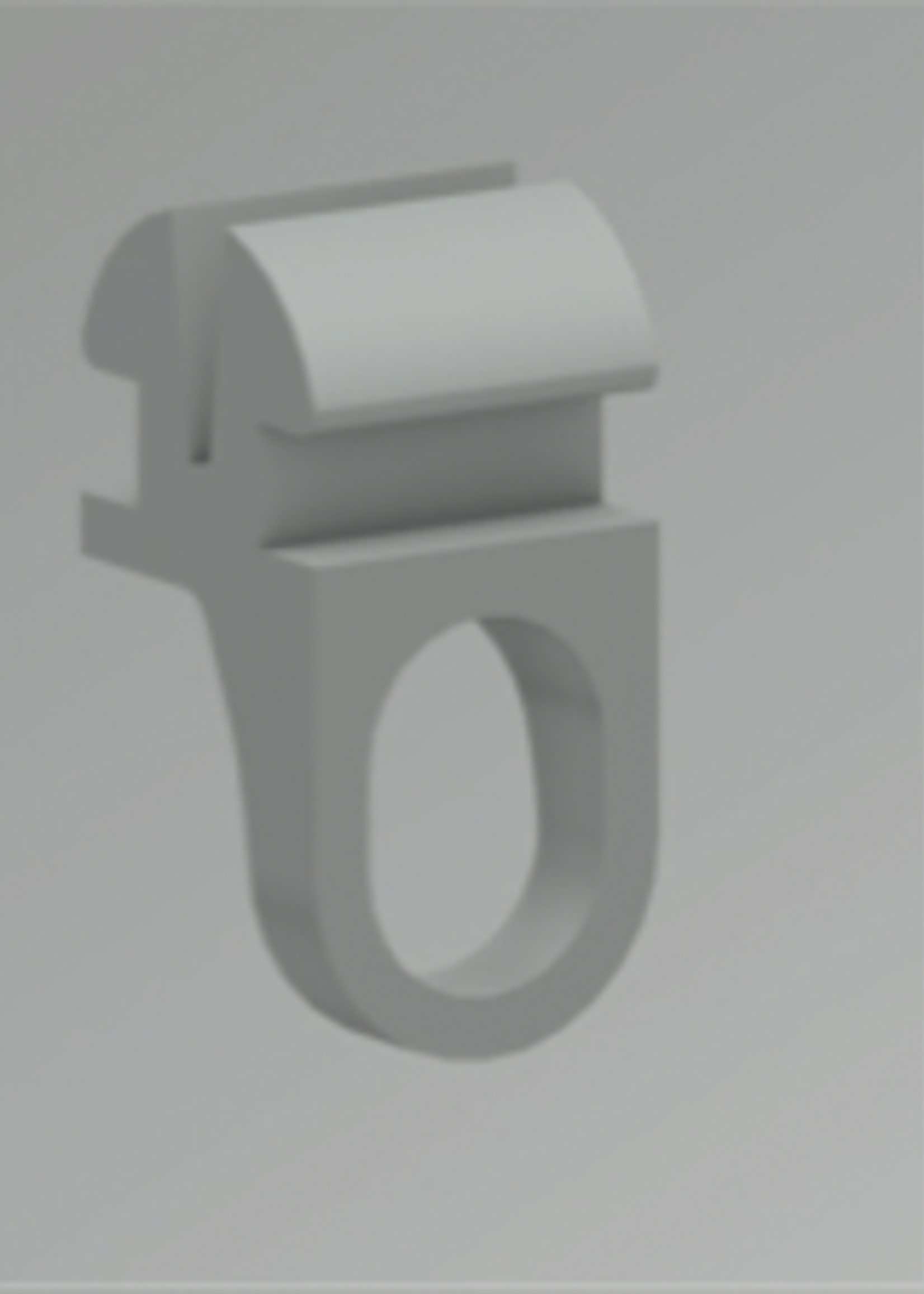 Gordijn Glijder U-Rails (KS) verpakt per 100 stuks