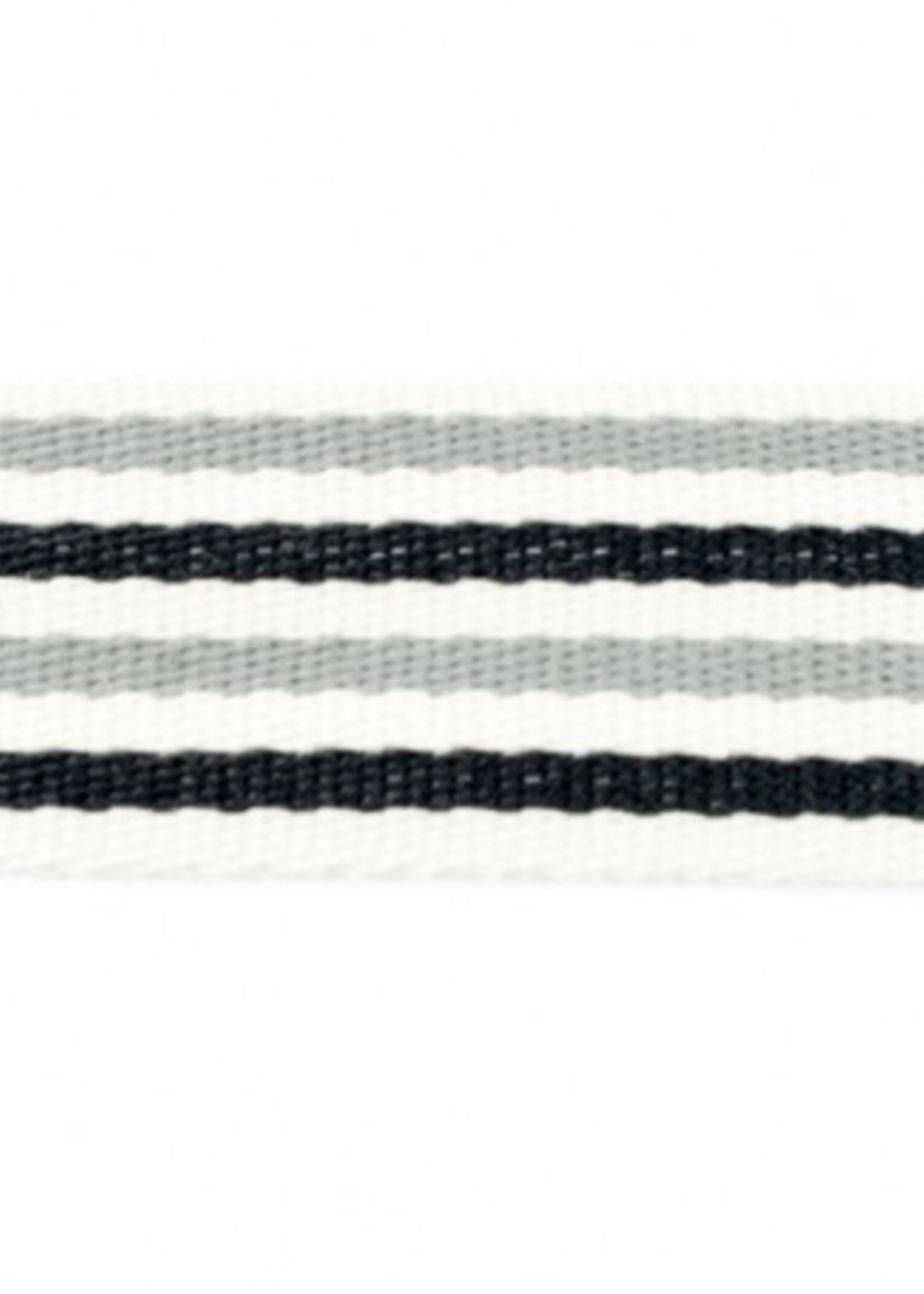 Tassenband 40 mm Streep 2-Kleurig